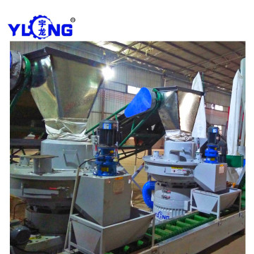Hay Grass Pellet Making Machinery