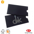 black snall paper envelope gift card holder