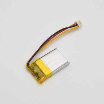 Small 3.7v lithium polymer battery 50mah lipo battery