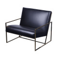 Modern cheap leather lounge chair