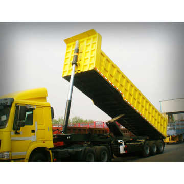 50 TONS Semi Tipper Trailer Dump Truck
