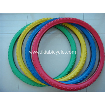 Black Rubber Bicycle Tire Tube