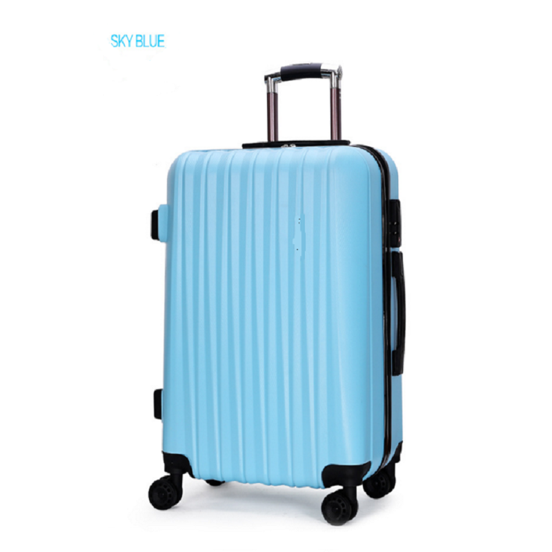 4 Spinner Wheeled Abs Pc Luggage