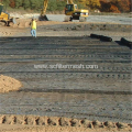 Uniaxial Stretch Geogrid Reinforce And stabilization Soil