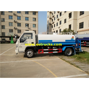 5000L Foton Road Watering Tank Vehicles