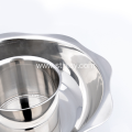 Non Magnetic Lash Hot Pot Stainless Steel