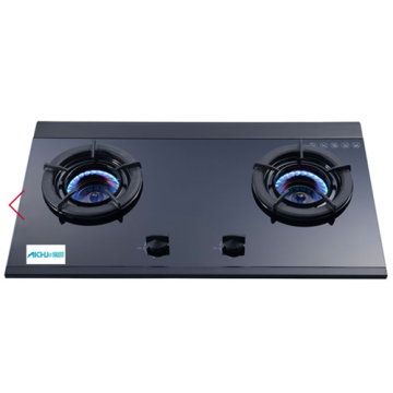 Inner 2-Burner Built-in Gas Hob Glass