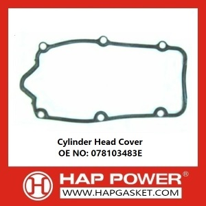 Free sample for Valve Cover Gasket Cylinder Head Cover 078103483E export to Egypt Importers