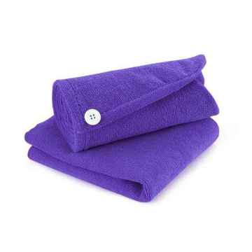 Microfiber Hair Wraps Towel Fast Dry Head Cap