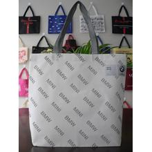 Logo printed and handle-style stitched non woven bag