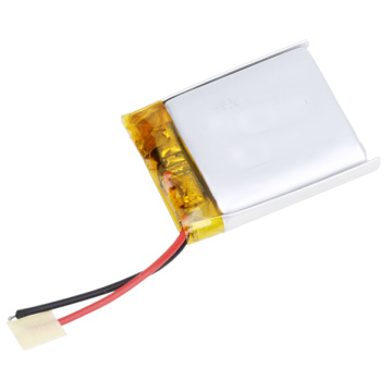 3.7v 450mah 652631 lithium polymer battery for watch