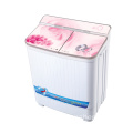 Red Glass Cover 4KG Twin Tub Washing Machine