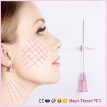 China Manufacturer for China Plastic Surgery Thread Lift, Korean Thread Face Lift, Gold Thread Face Lift, Pdo Thread Lift, Pdo Cog Lifting Thread manufacturer Disposable Pdo Thread for Skin Lifting export to Poland Factory