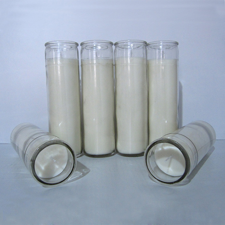 7 Day Vigil Novene Devotional Glass Candles