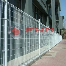 Welded Wire Fence PVC Double Circle Loop Fence