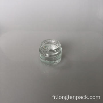 Bocal en verre de 20 ml