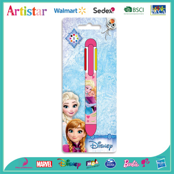 Disney Frozen 8-color pen with blister card