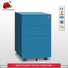 Files Storage Metal Mobile Pedestal