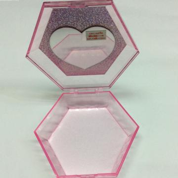 Plastic hexagonal gift box