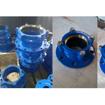 Ductile Iron Pipe Fittings Restraint Flange Adapter