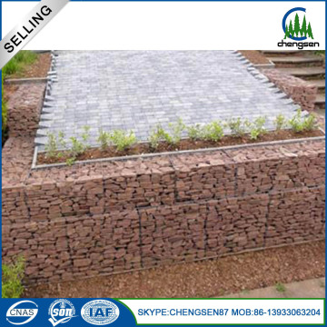 Best selling Professional Galvanized welded Gabion Basket