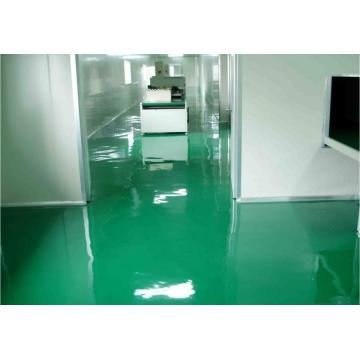 Workshop high strength epoxy flat topcoat coating