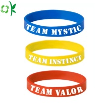 Eco-friendly Printed Silicone Bracelet for Promotional Gift