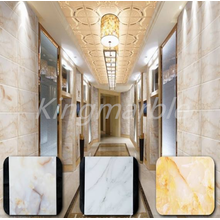 10 Years for Pvc Shower Wall Marble Panel inteiror Decorative marble design wall panel supply to Brazil Supplier