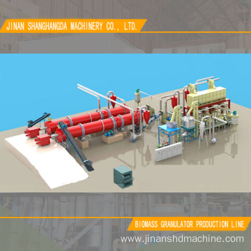 5T/H Granulator Biomass Production Line