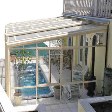 Aluminum Extrusion Sunroom Winter Garden Aluminium Sun Shade
