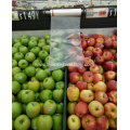 Transparent Flat Plastic Bags on Roll for Supermarket