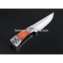 Drop Point Skinner Satin Fixed Blade Hunting Knife