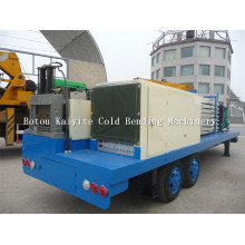 Super Span Arch Steel Roofing Building Machine