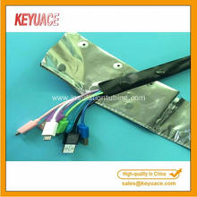 PVC Button Aluminum Foil Shielding Wrapping Bands