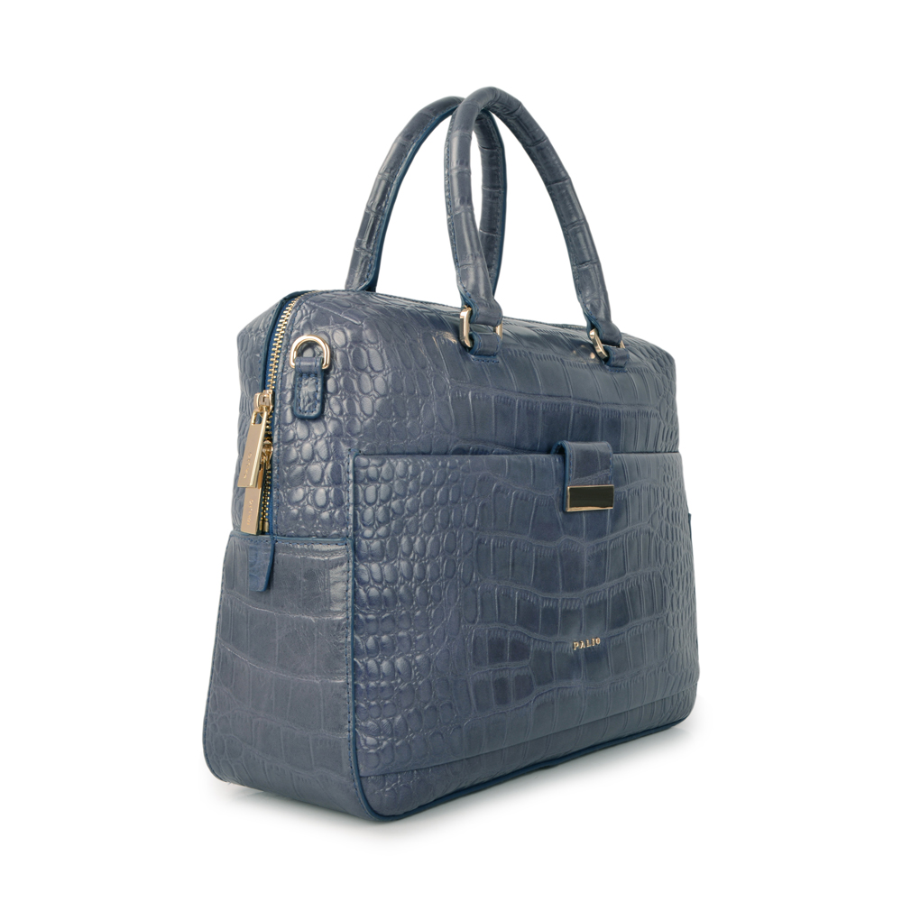 ew coming full grain leather business women portfolio bag