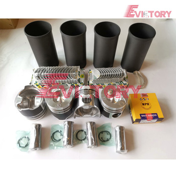 HINO N04C rebuild overhaul kit gasket bearing piston