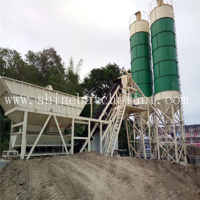 New JS Series Concrete Mixer Plant For Sale