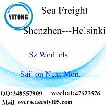 Shenzhen Port LCL Consolidation To Helsinki
