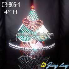 Holiday Rhinestone Christmas Tree Pageant Crowns