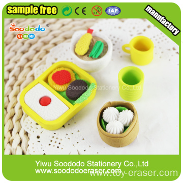 Chinese Food Eraser As Promotional Gift For Child