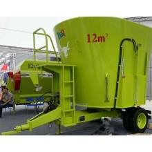 Two auger feeding mixer