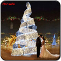 Led artificial christmas tree with whole set ornaments