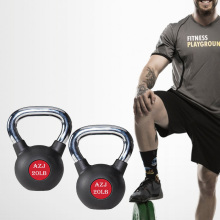 Comfortable Rubber Coated Kettlebell