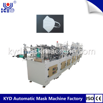 Auotmatic Folding Mask Machine with Valve Welding