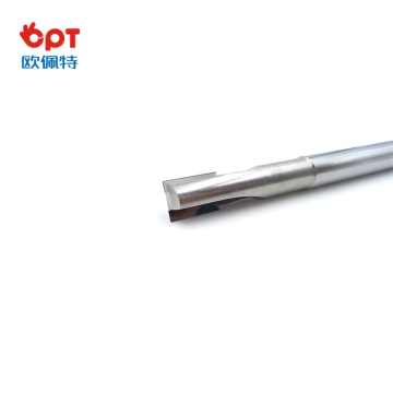 PCD  diamond end mill turnig cutter geometry