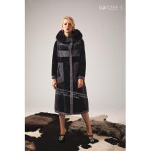 China supplier OEM for Winter Fur Coat Ladies Spain Merino Shearling Coat supply to Indonesia Manufacturer