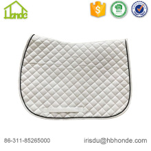 Equine Oblique White Saddle Pads
