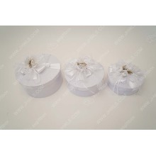 Hot sale for Jewelry Box Designs Ribbon custom-made white wedding box export to Namibia Supplier