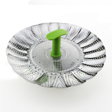 Factory best selling for Vegetable Steamer Basket Stainless Steel Vegetable Steamer supply to India Wholesale