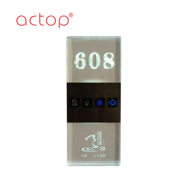 2018 electronic door number door plate